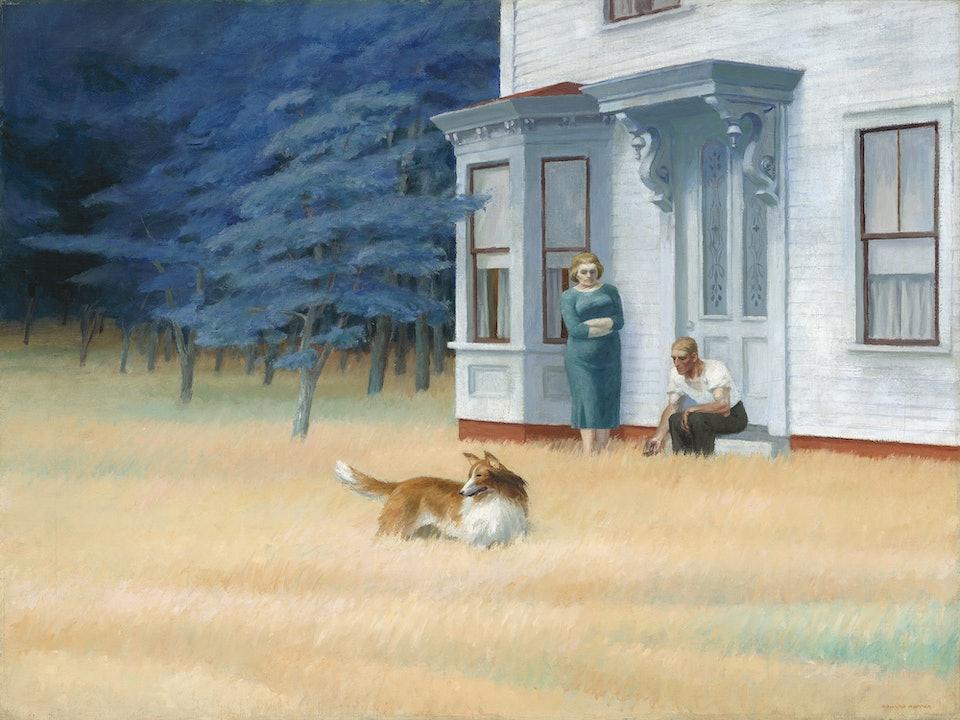Edward_Hopper,_Cape_Cod_Evening,_John Hay Whitney Collection