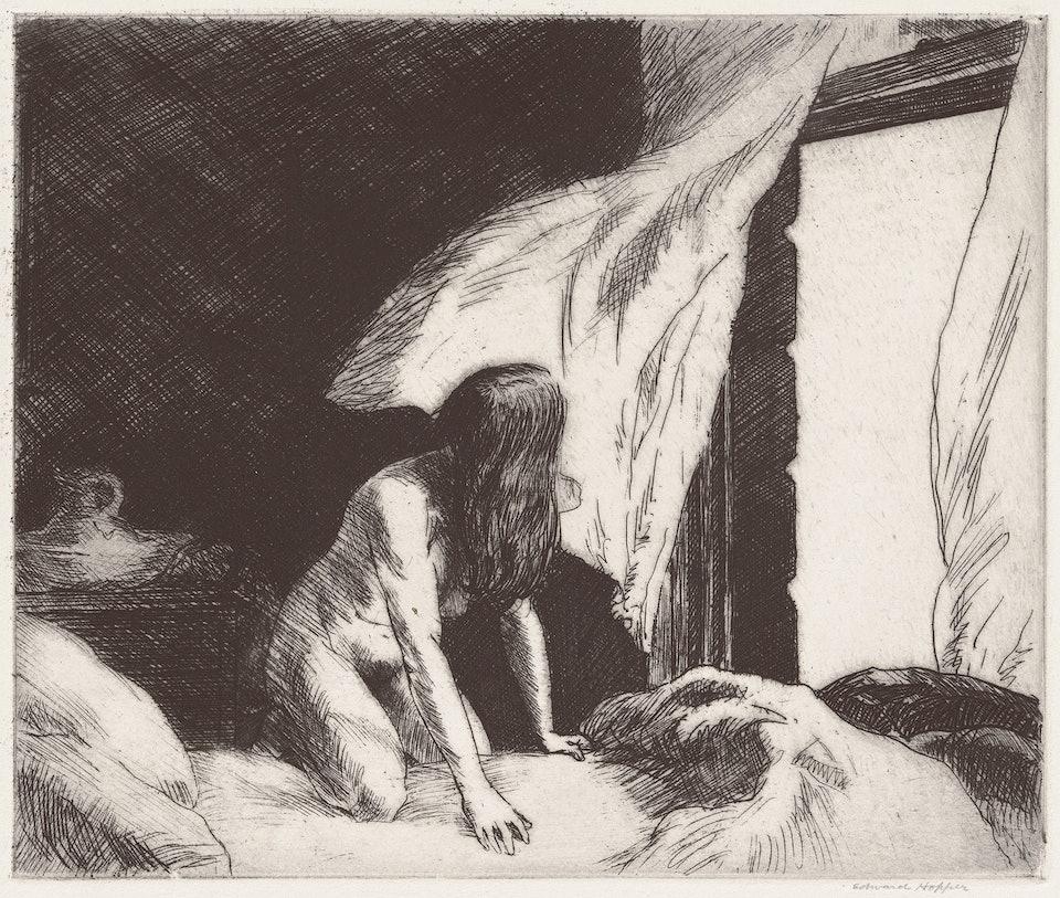 Edward_Hopper,_Evening_Wind,_1921, Rosenwald Collection 9