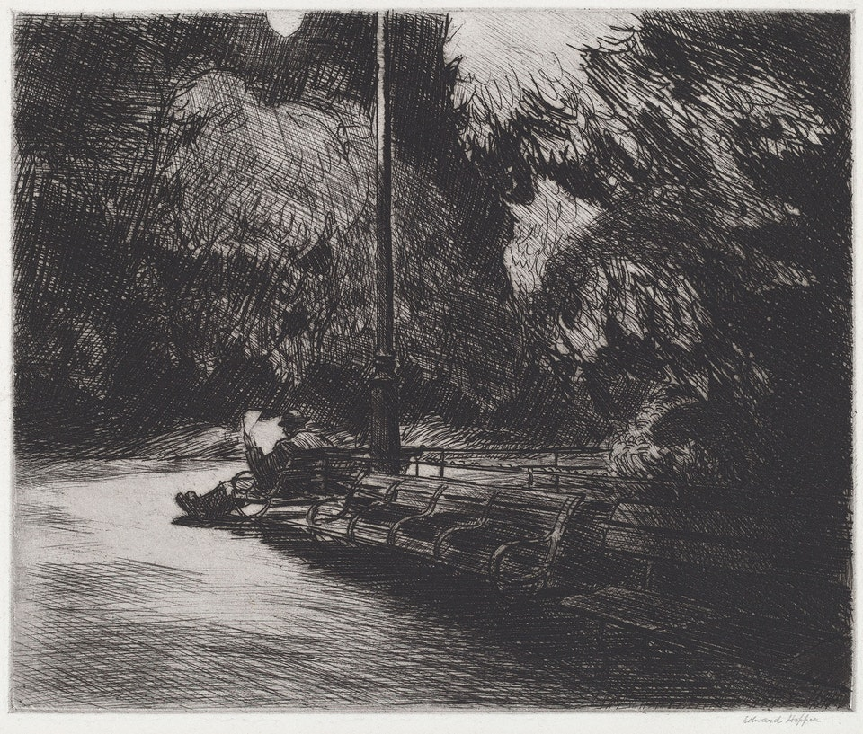 Edward_Hopper,_Night_in_the_Park,_ Rosenwald Collection 53