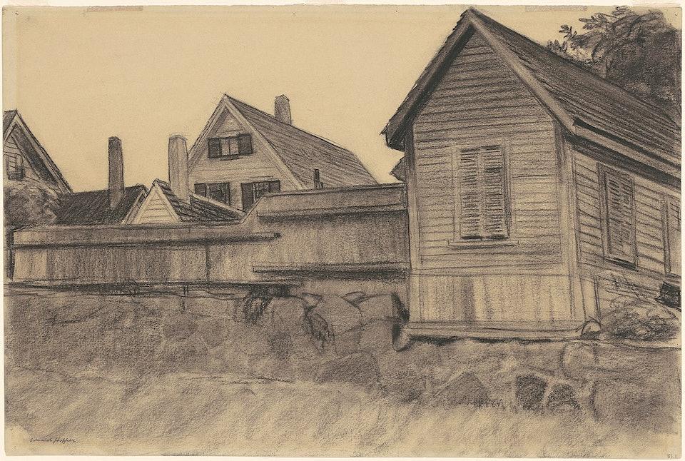 Дома, Глостер_c._1923,_NGA_169442Corcoran Collection (Museum Purchase, Membership Association Fund)