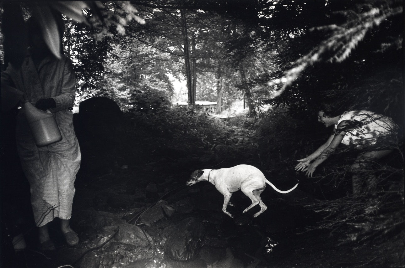 Bertien van Manen, Helen and Camy, Cumberland, Kentucky,1987, from the Appalachian Mountains series, 1985-2013, gelatin silver print, from the collection of the artist