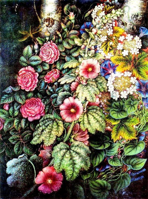 Мальвы и розы. 1954 - 1958
