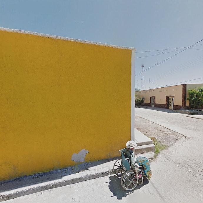 Yellow Wall_Mexico_agoraphobia