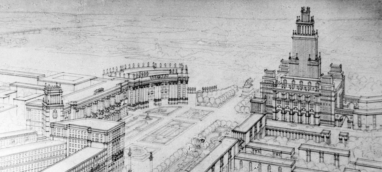 16. 1951_Катонин_Библиотека_architecture_shirochin