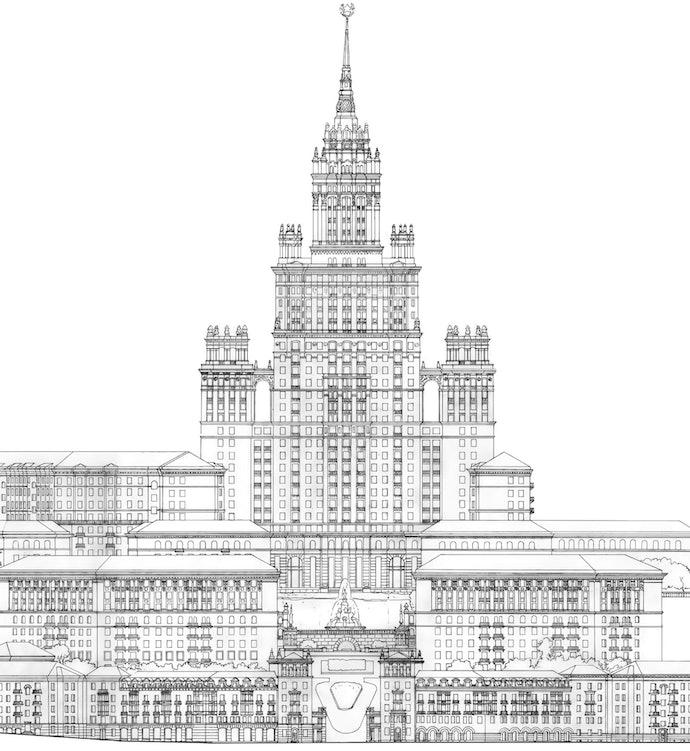 17. 1952 высотка (городской архив Киева)_architecture_shirochin