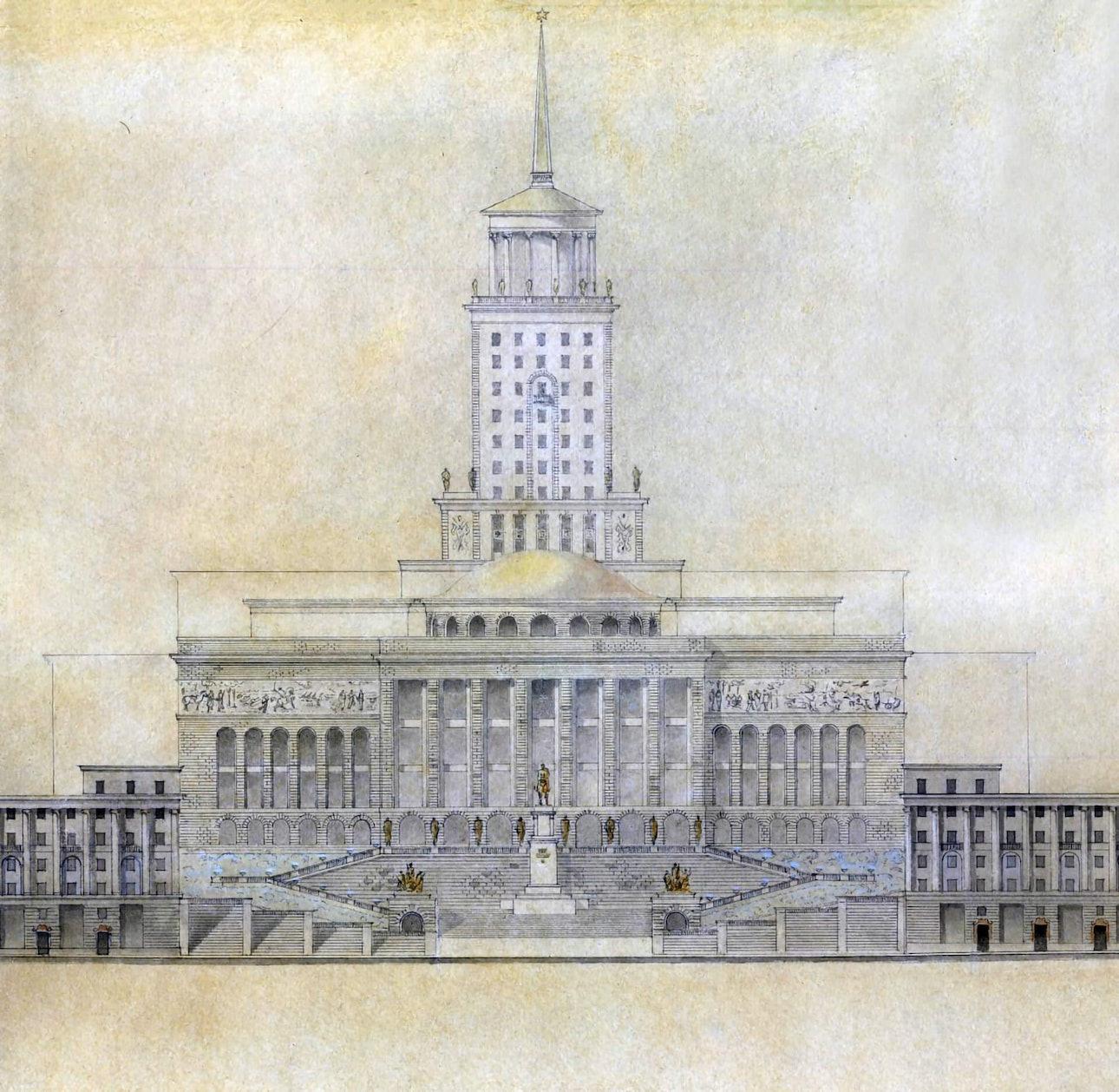 new_architecture_1944 Алёшин дом обороны(София Киевская)