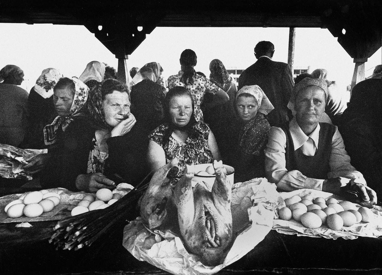 А. Мацияускас. В литовских сельских базарах. Алитус. 1973_litva