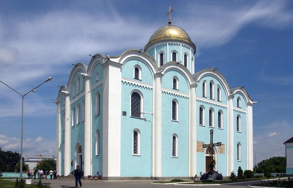 Владимир-Волынский. Успенский собор (1160)