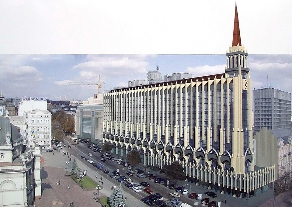 Владимирская, 51. проект реконструкции (2005) 1