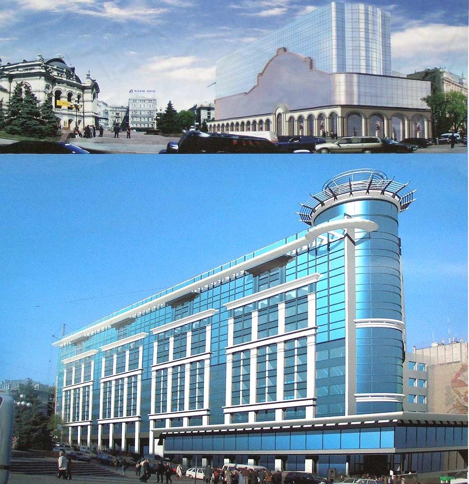 Владимирская, 51. проект реконструкции (2005) 6