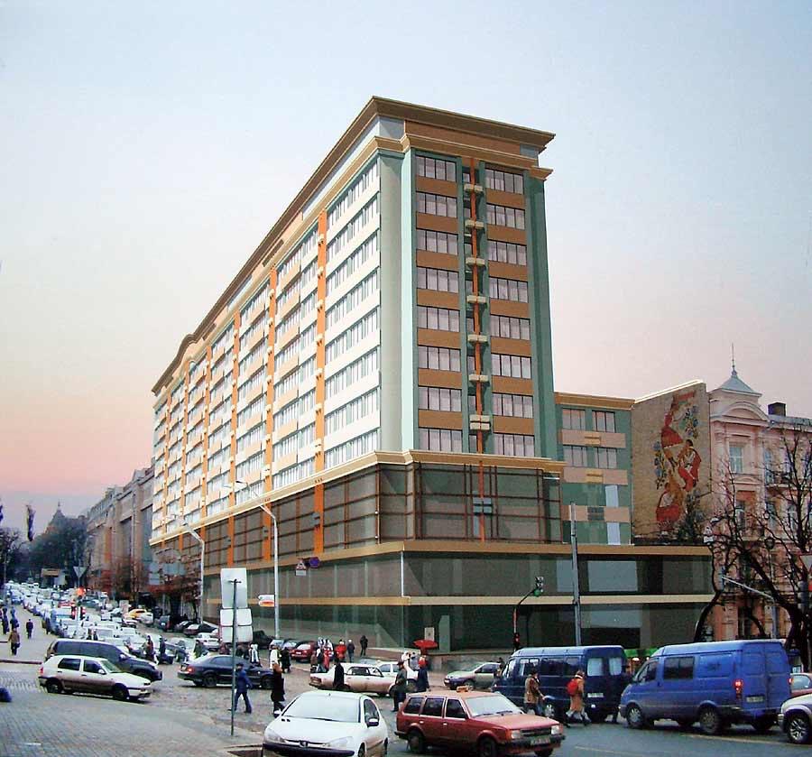 Владимирская, 51. проект реконструкции (2006) 2