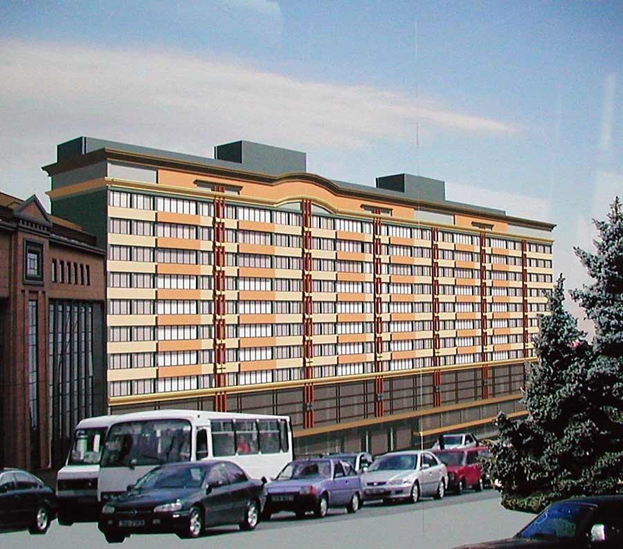 Владимирская, 51. проект реконструкции (2006)