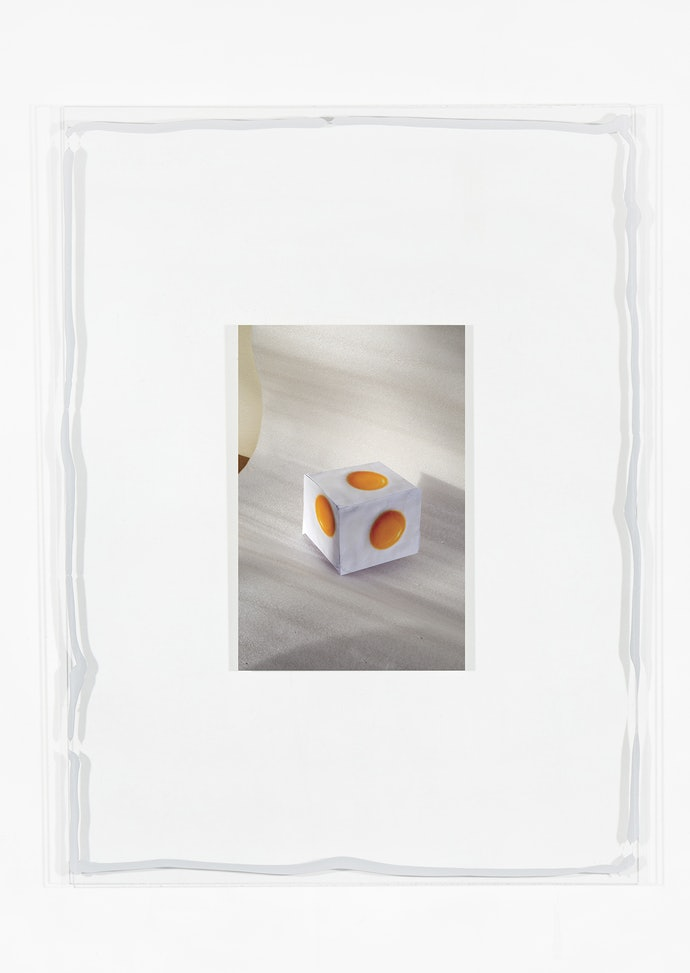 Vytautas Kumža, Half Empty Half Full #7, Hahnemühle print mounted on glass, silicone, 2019