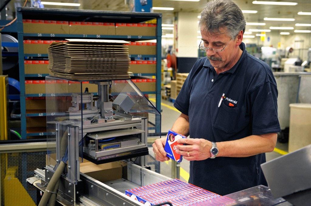 Polaroid Fabriek Enschede