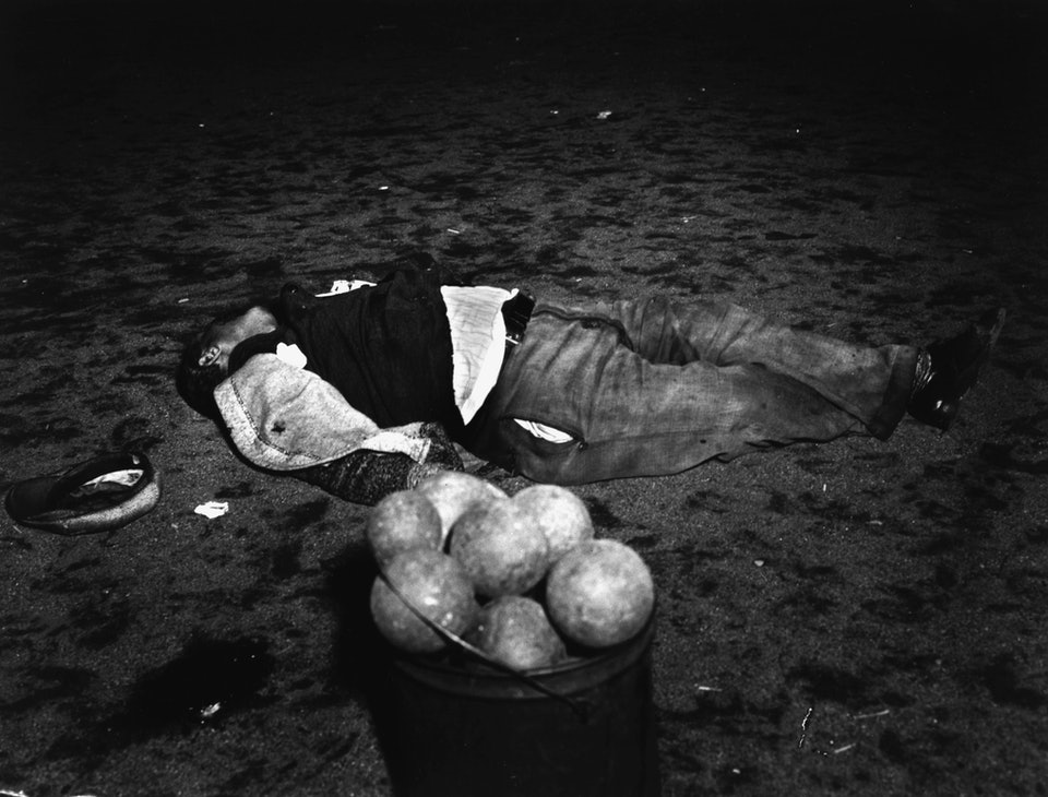 Mord beim Boccia-Spiel / New York/ 1938