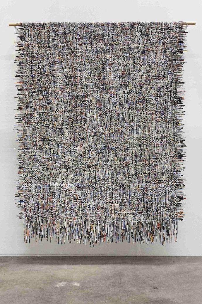 lanko-Инсталляция «Основа и уток», 2016, Оля Ланько