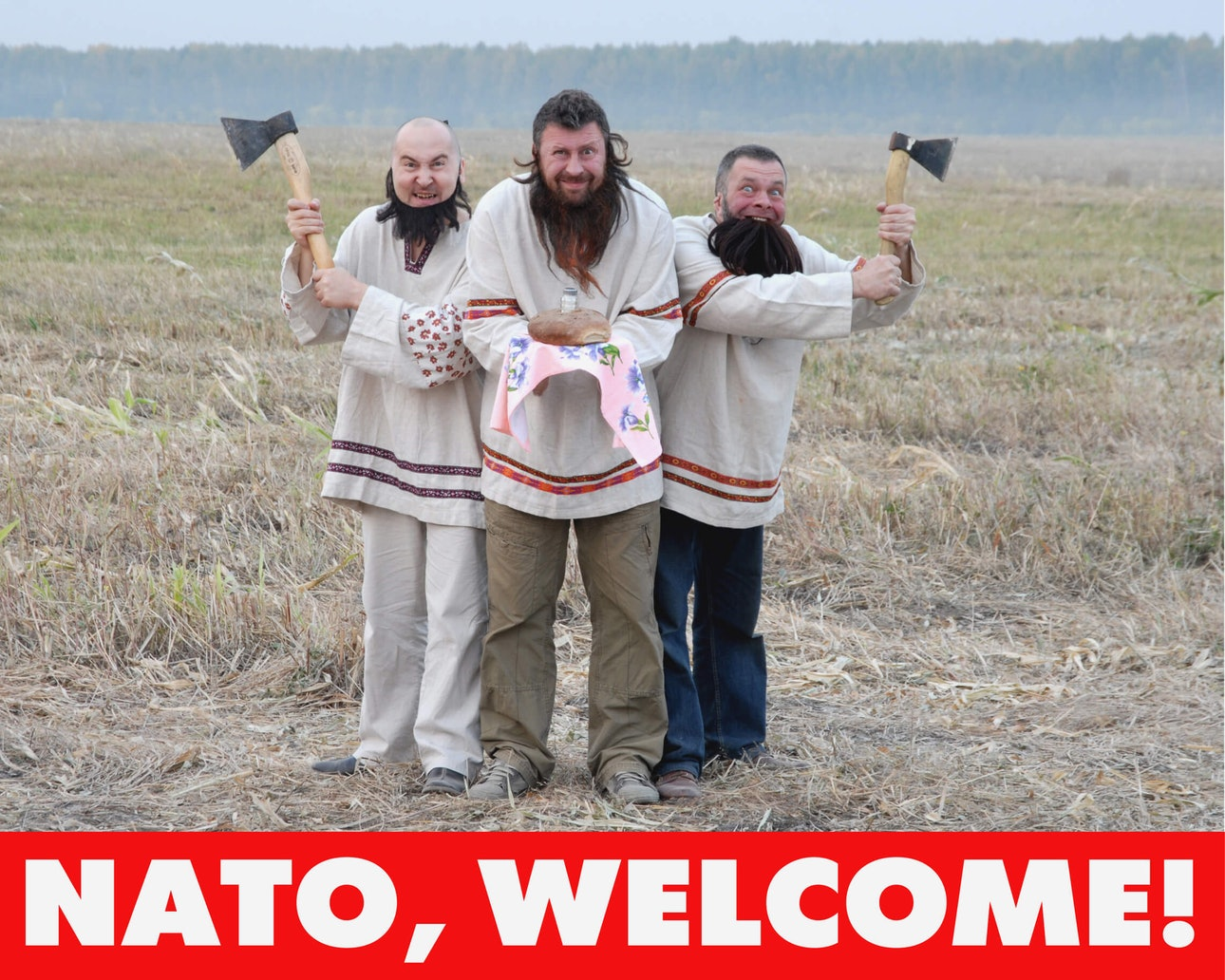 NATO, welcome! (1)