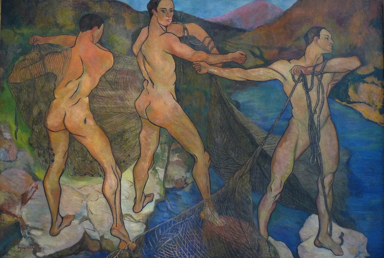 Suzanne_Valadon-Le_Lancement_du_filet-Musée_des_beaux-arts_de_Nancy