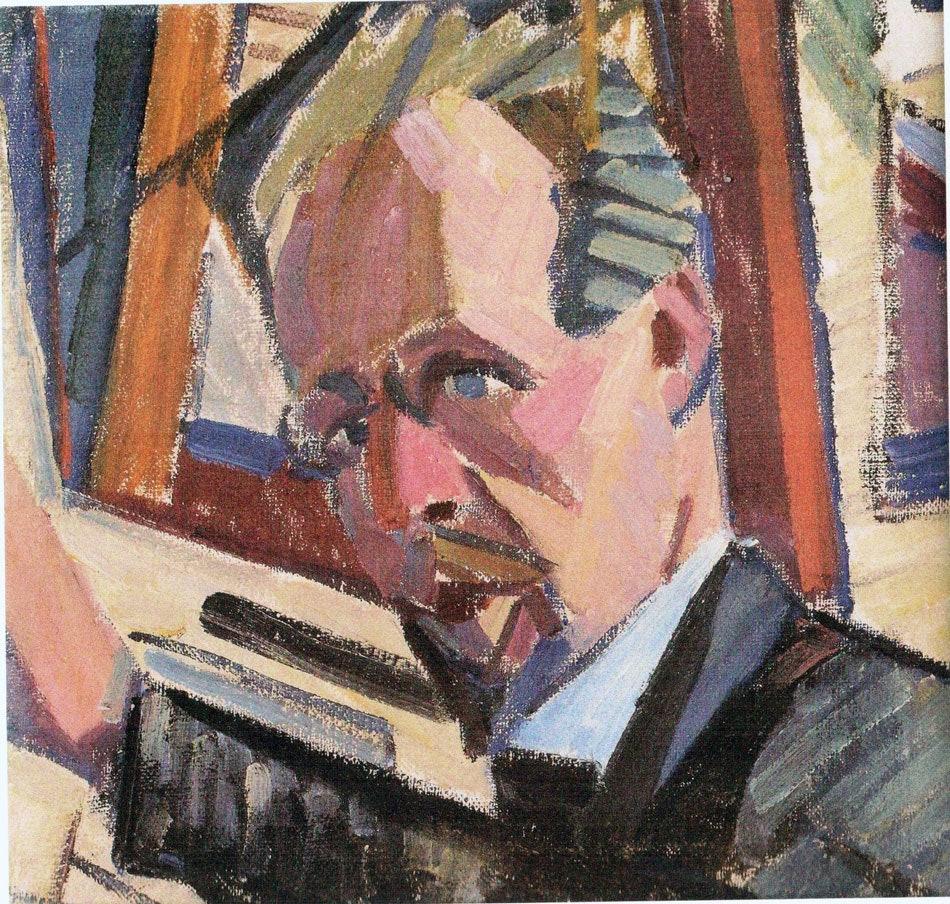 Автопортрет.1914