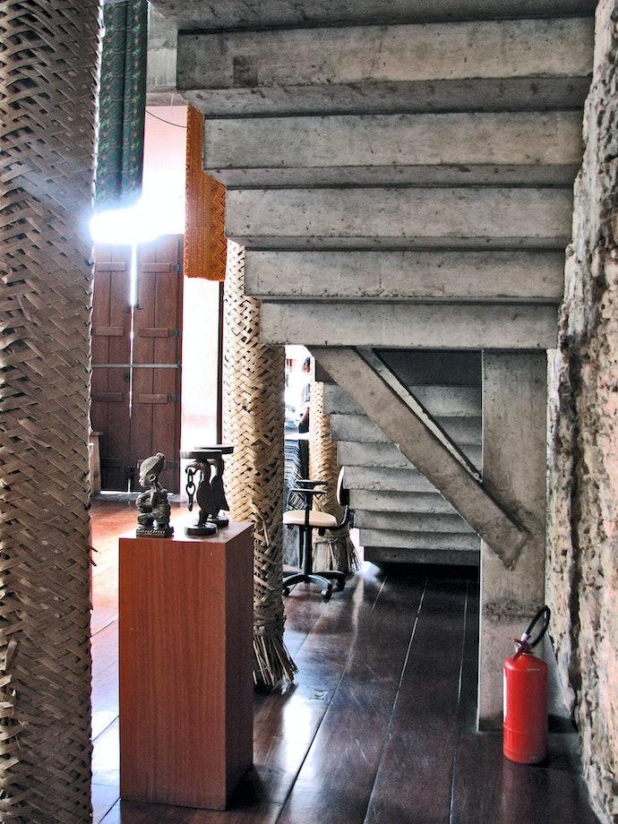 музей афро-бразильских отношений в Салвадоре по проекту Лины Бо Барди