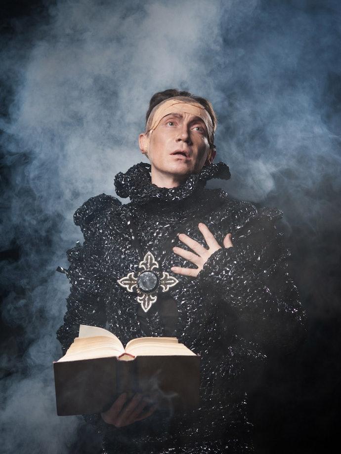 Гамлет, из проекта Полоний