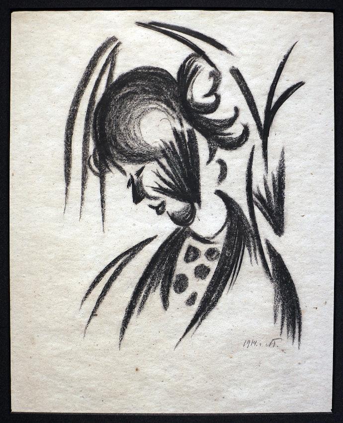 Профиль Ванды. 1914. Courtesy of James Butterwick