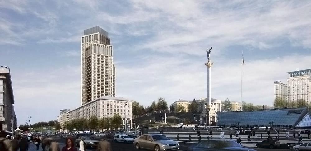 Андрей Пашенько Киев Крещатик Майдан