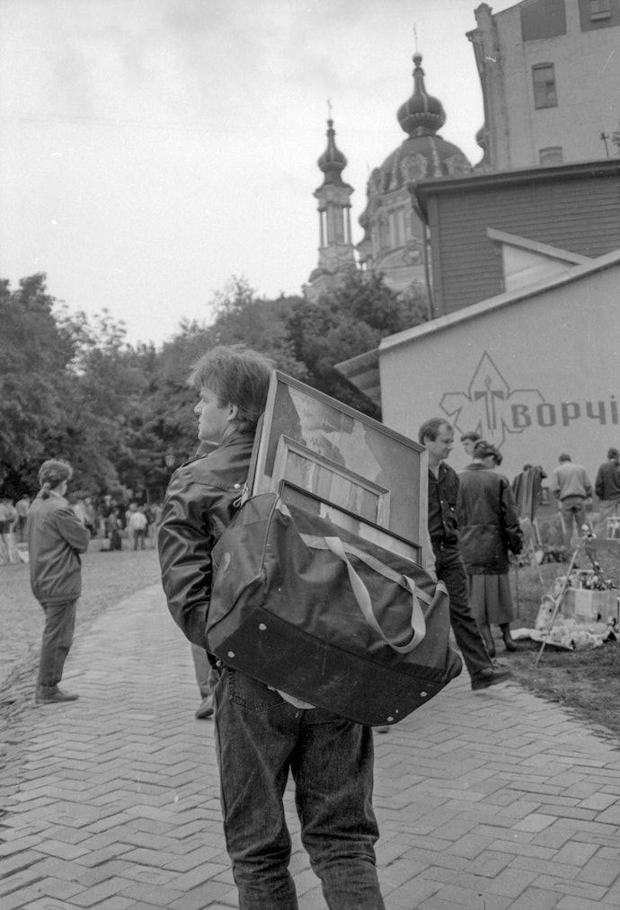 Андріївський узвіз Палінчак Київ Художники