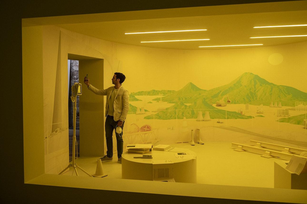 Павильон Турции на архитектурной биеннале в Венеции