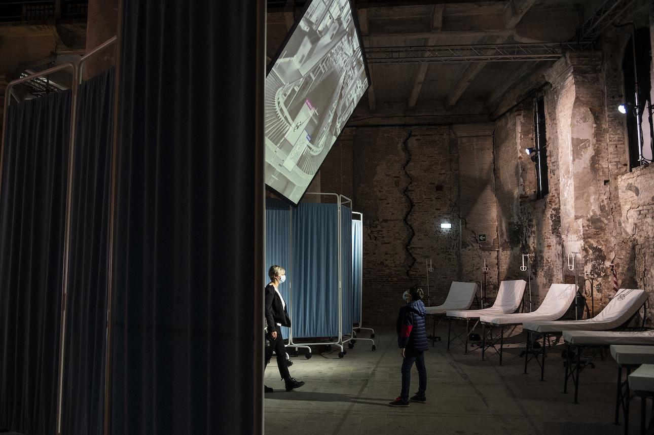 «Больница будущего» Райнира де Граафа в павильоне Нидерландов