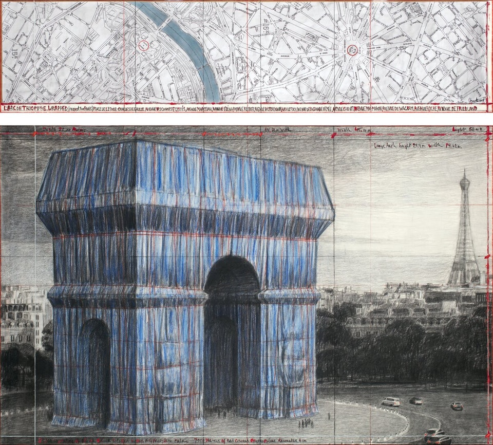 Arc-de-Triomphe_André Grossmann_Христо Явашев Триумфальная арка