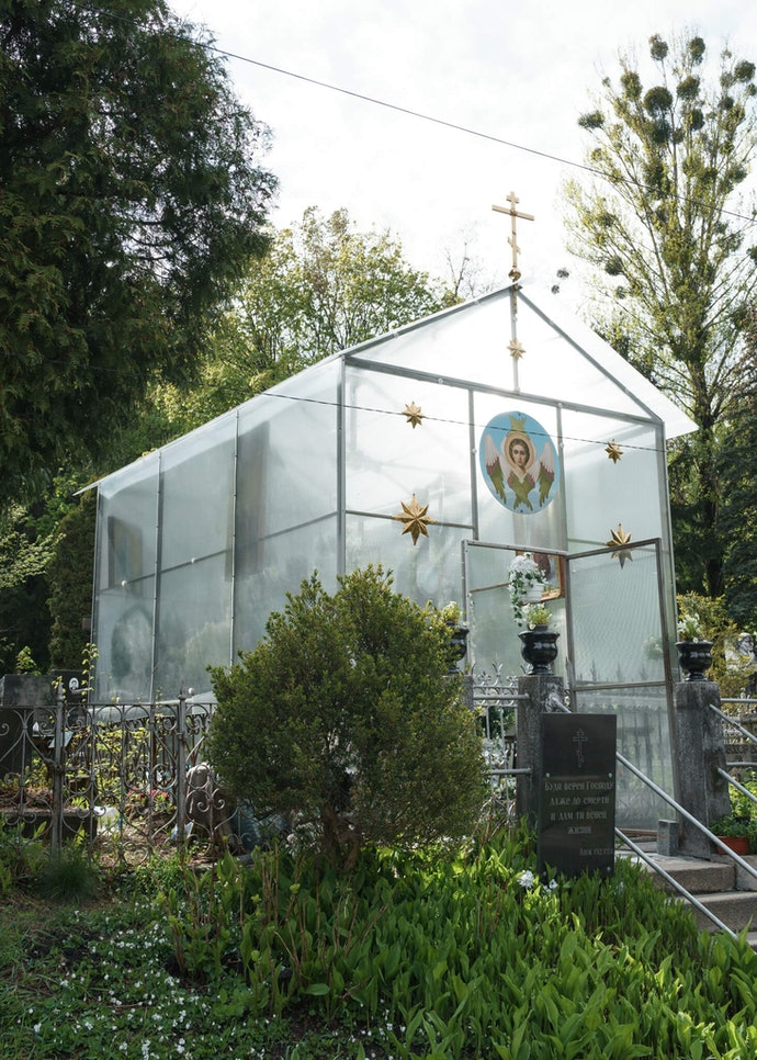 Дмитрий Пруткин Байковое кладбище Киев