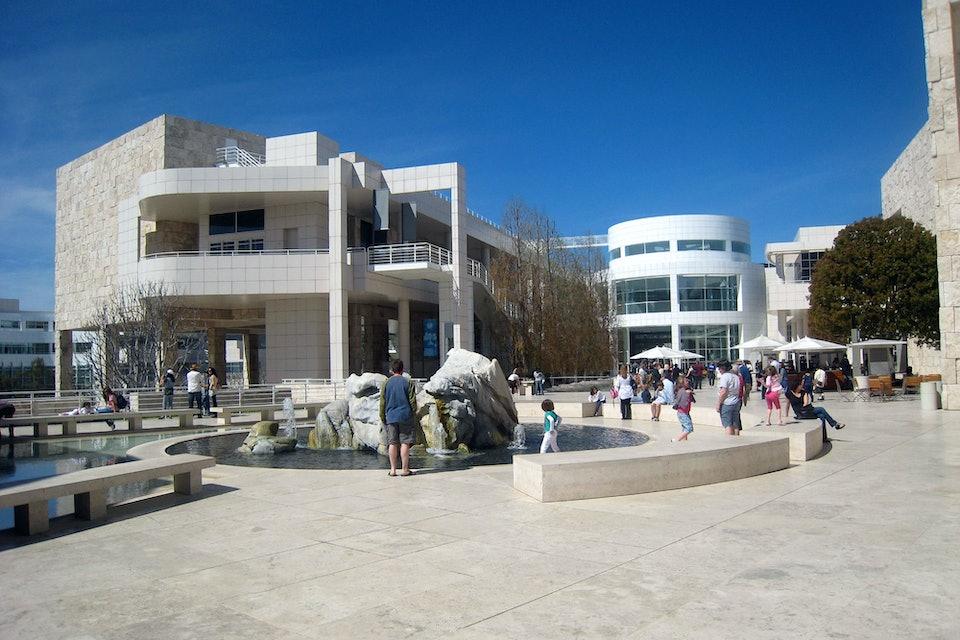 Richard Meier Ричард Мейер Центр Гетти в Лос-Анджелесе