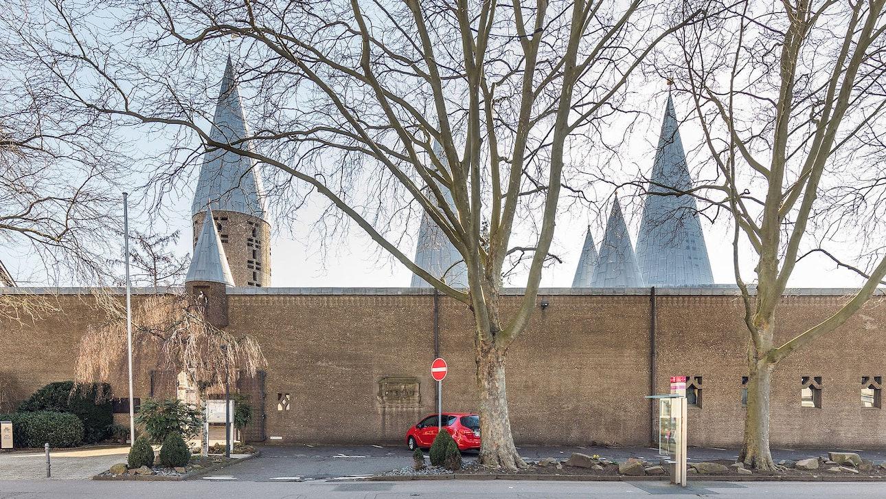 Церковь Святого Сердца в Бергиш-Гладбах Готтфрид бём