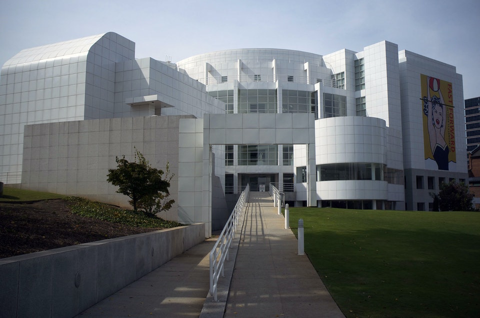 Meier Ричард Мейер музей искусства Хай