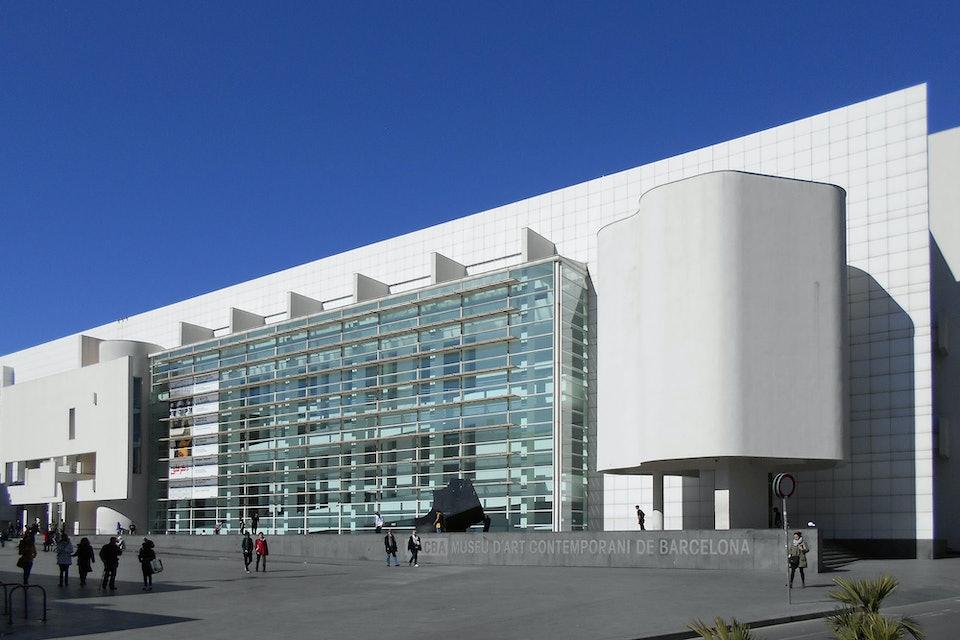 Richard Meier Ричард Мейер Музей современного искусства в Барселоне