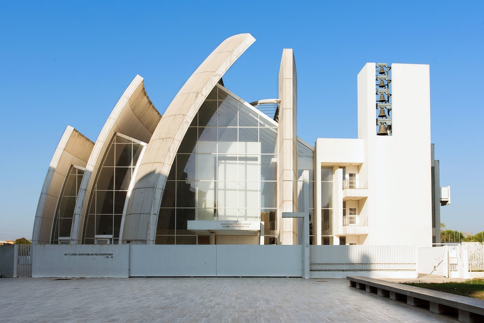 Richard Meier Ричард Мейер Юбилейная церковь в Риме