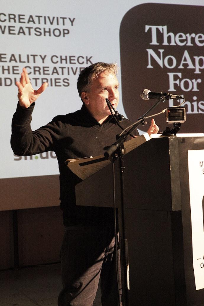 лекция Марка Фишера / Викимедиа/ Wikimedia Commons