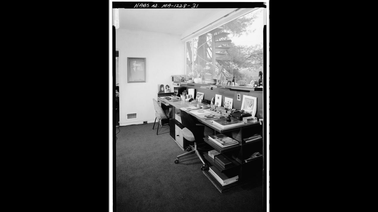 Робочий кабінет Вальтера Гропіуса