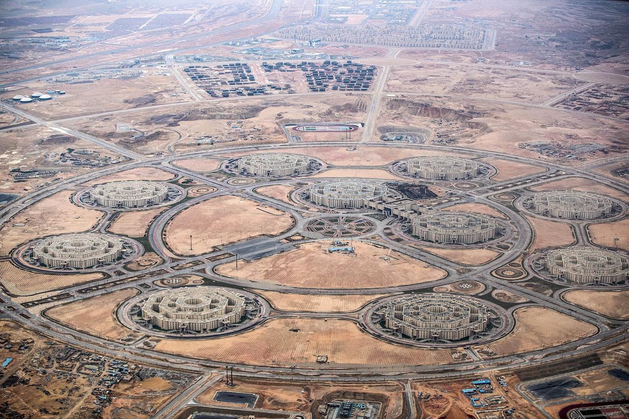 Офис Министерства обороны Египта Октагон Новая административная столица Египта