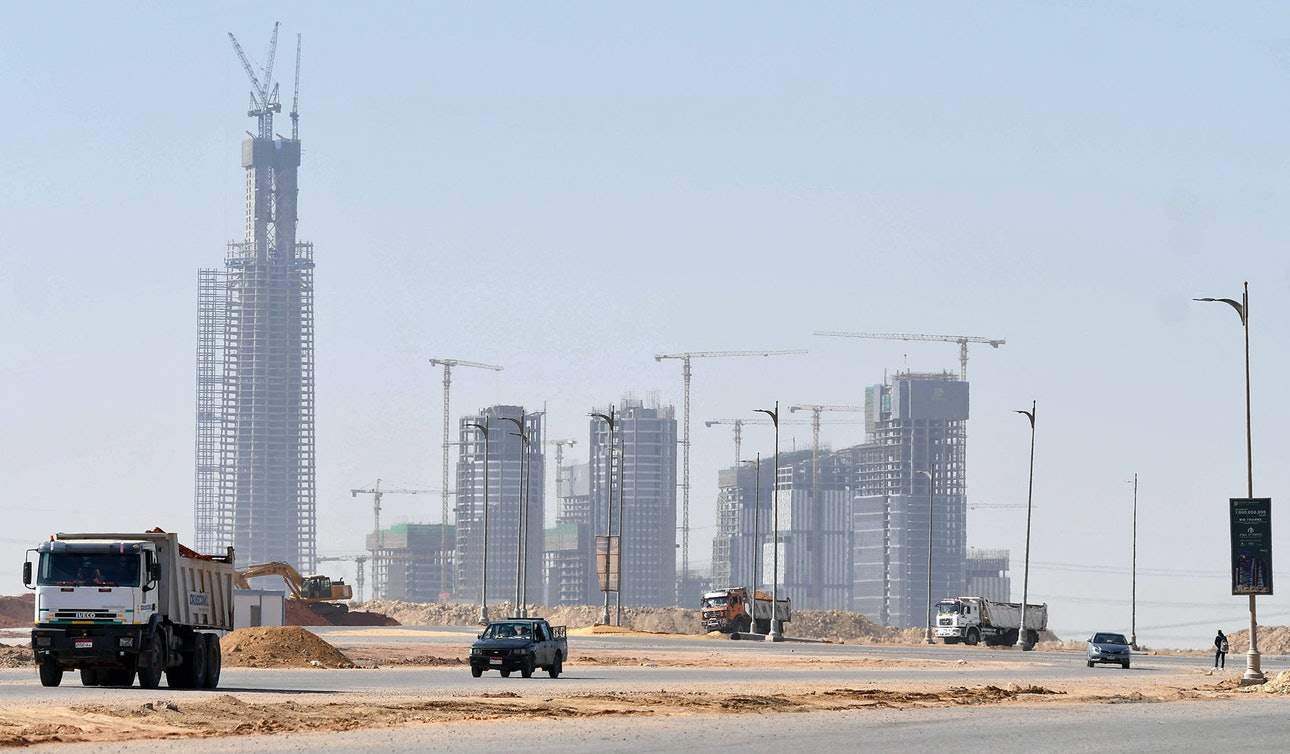 Новая административная столица Египет Iconic Tower