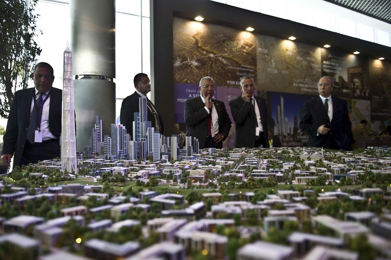 Новая административная столица Египта
