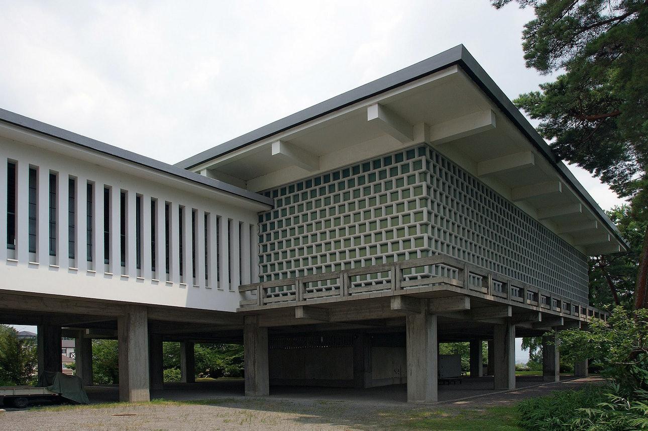 Джапанди стиль архитектура Япония