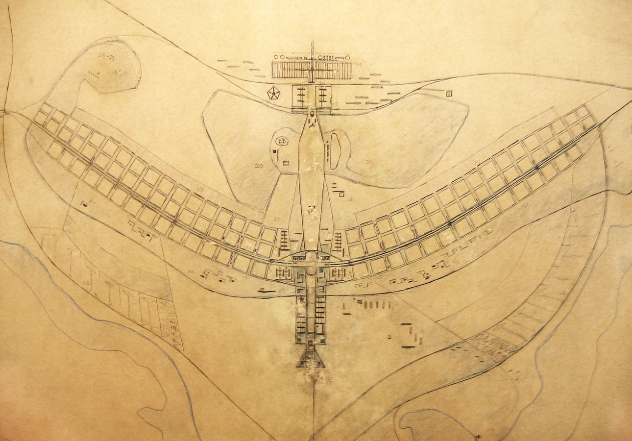 План Бразилиа архитектор Лусио Коста