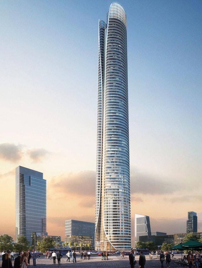 Новая административная столица Египта iconic tower