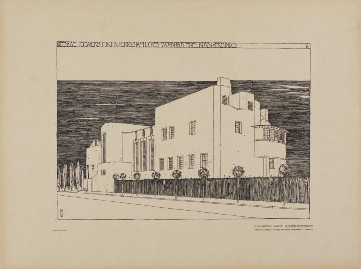Чарльз Ренни Макинтош архитектор Дом любителя искусств Глазго