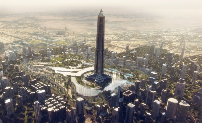 Новая административная столица Египта Oblisco Capitale