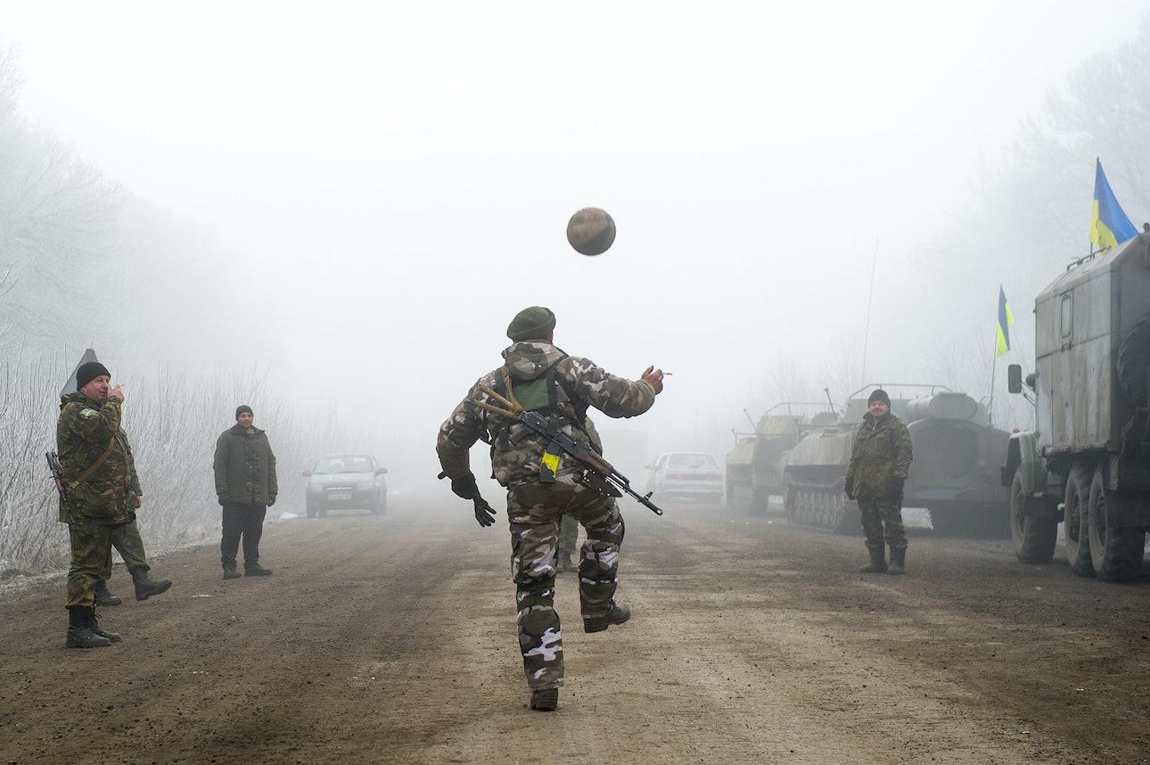 Володимир Шуваєв футбол Дебальцеве