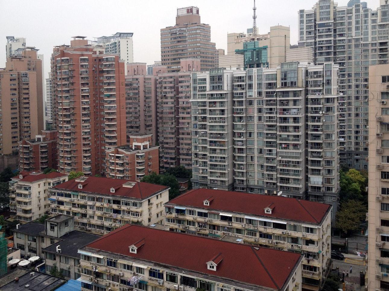 Жилые дома в Китае