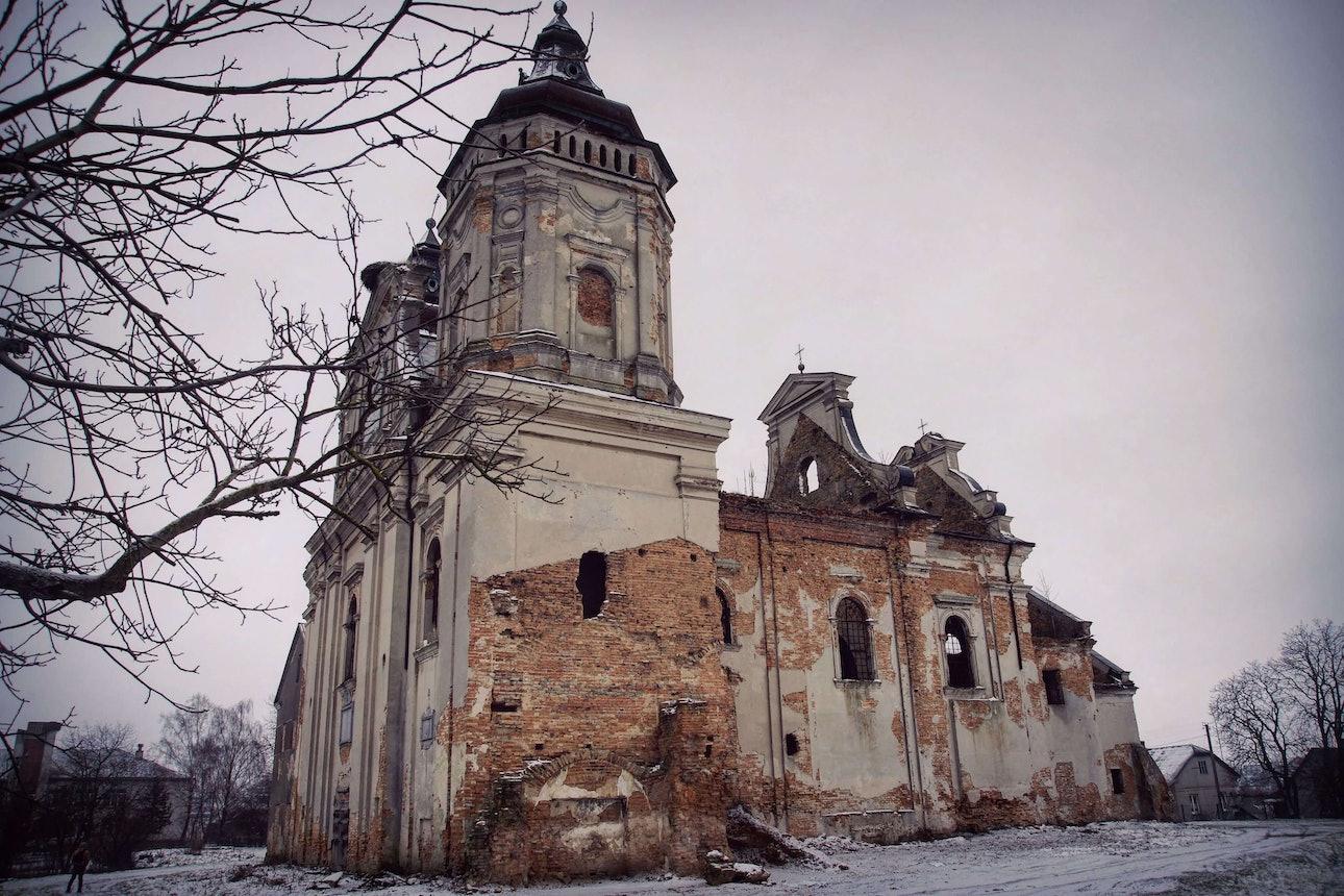 Костел Святого Марка в селі Варяж, Львівська область Марина Временова